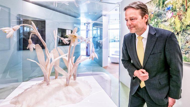 Ton Büchner, vertrekkend voorzitter van de Raad van Bestuur van AkzoNobel Beeld Raymond Rutting / de Volkskrant