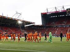 Met de complimenten van de bondscoach: 'Het veld in Enschede was geweldig'