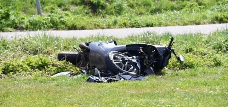 Scooterrijder licht gewond na aanrijding in Vlissingen