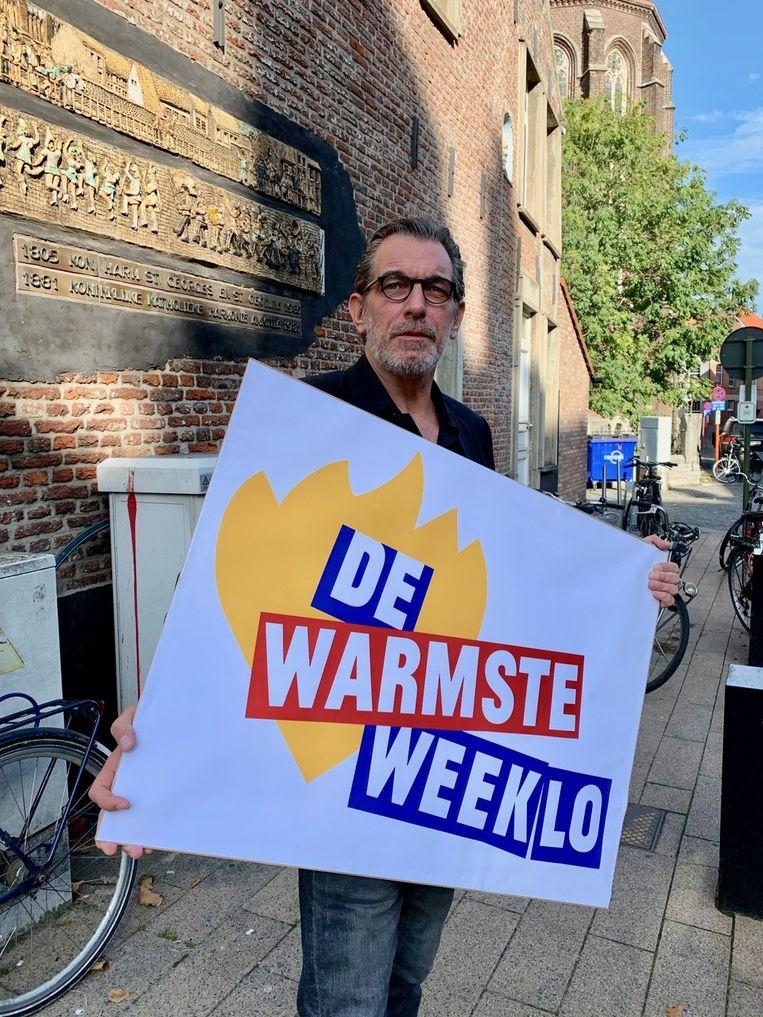 Rob Vanoudenhoven is peter van De Warmste Weeklo.