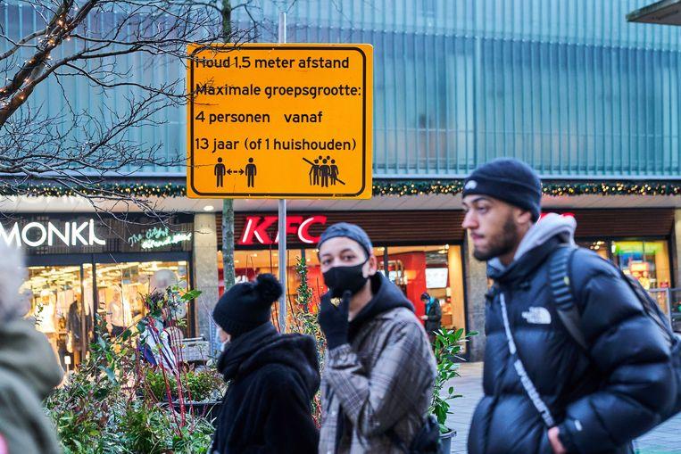 In de regio Rotterdam is de variant al bij zo'n vijftig mensen vastgesteld. Beeld ANP