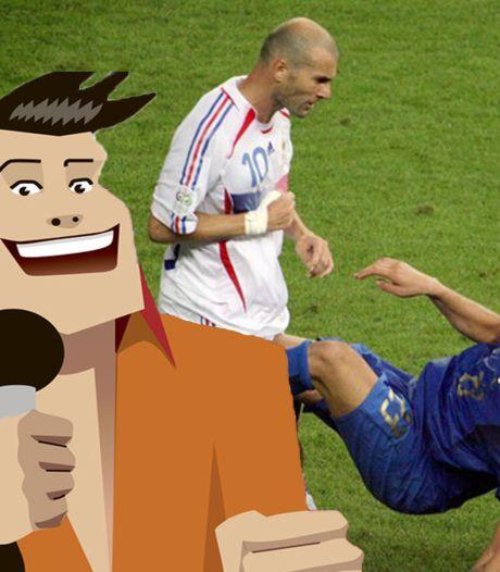 Quiz   Waarom deelde Zidane in WK-finale van 2006 een kopstoot uit aan Materazzi?