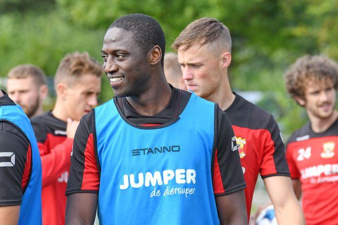 Jacob Mulenga scoorde in een oefenwedstrijd van GA Eagles.