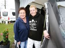 Koukleumen op de camping: 'Als de tent er staat, ben ik er'