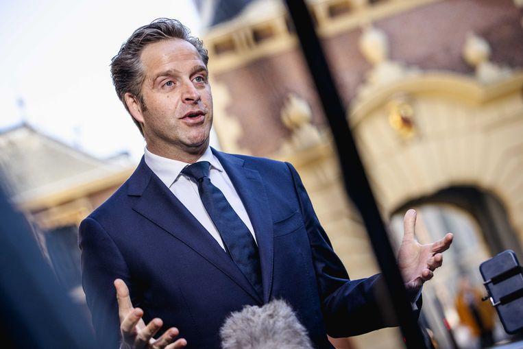 De Nederlandse minister van Volksgezondheid Hugo de Jonge Beeld ANP