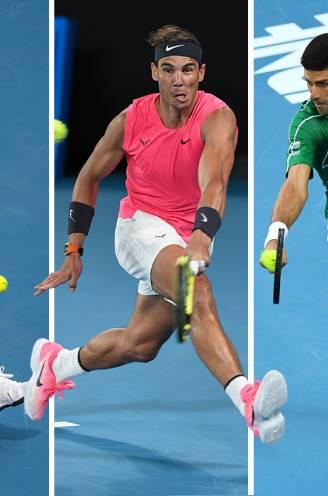 Wie is nu de grootste ooit: Federer, Nadal of Djokovic? Dit zeggen de cijfers