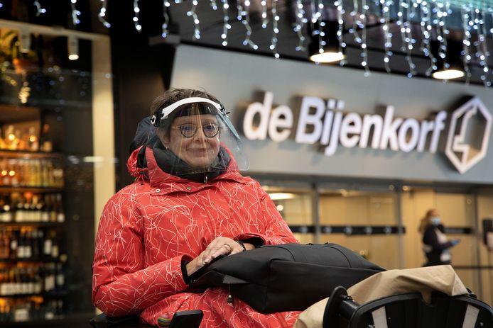 Gerdien Schuring werd maandag ten onrechte geweigerd bij de Bijenkorf in Eindhoven.