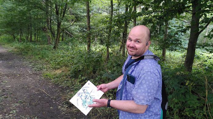Eerste boscastwandeling door Almoeseneiebos Gontrode.