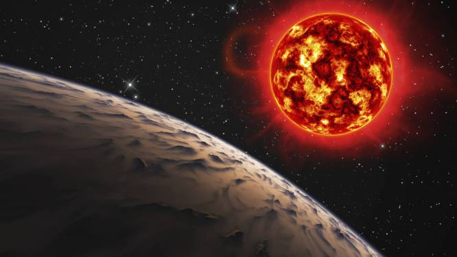 """Nieuw onderzoek wijst uit: """"Zoek buitenaards leven nabij stervende ster"""""""