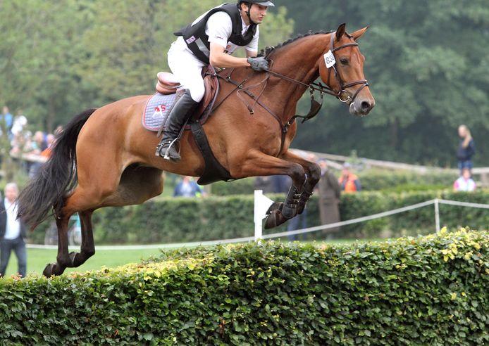 Don Quidam in actie. In 2020 verkozen tot het meest succesvolle eventingpaard.