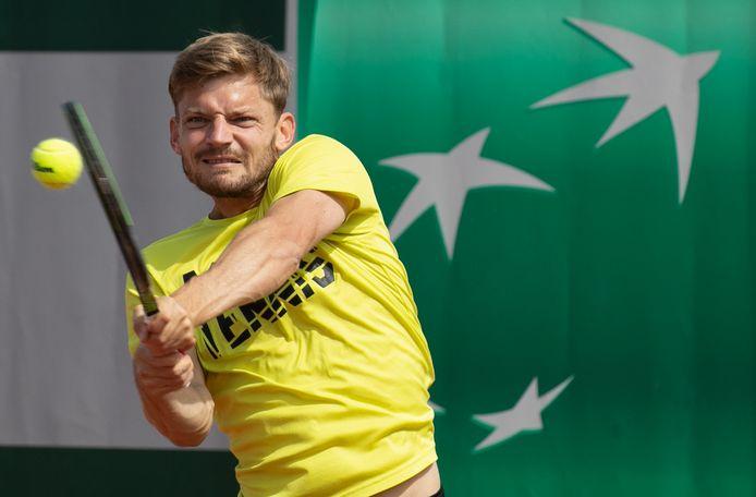 David Goffin is de enige Belg in de ATP top 200.