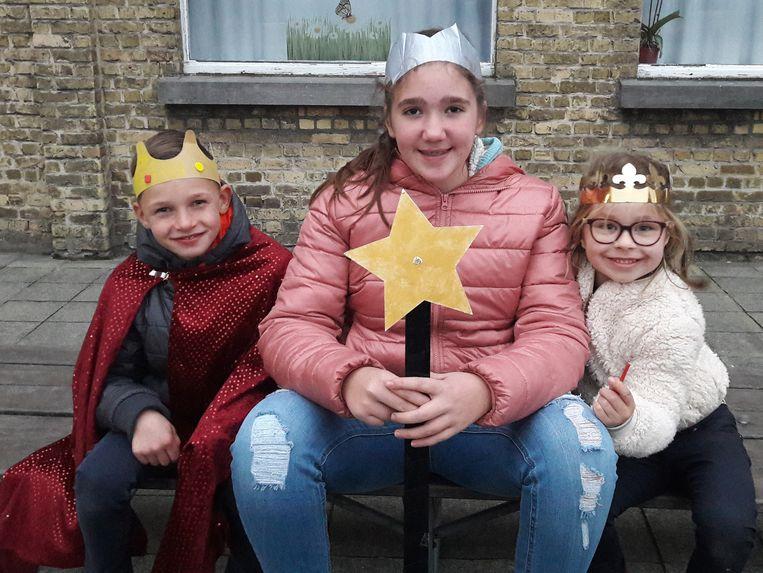 Remi Halewyck, Elise Crombez en Helena Debruyne mogen zich de Driekoningen van 2019 noemen
