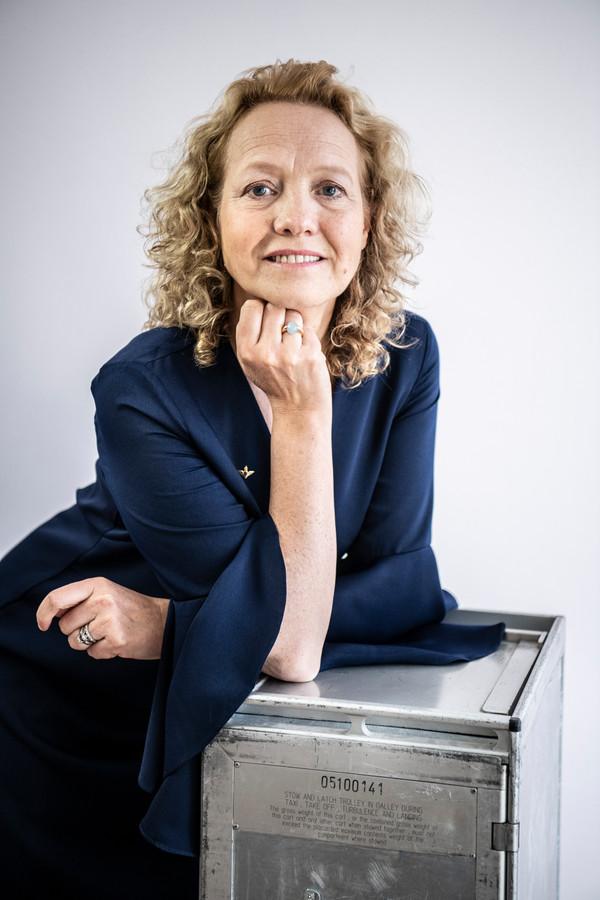 Anne-Marie Boonen, purser en trainer.