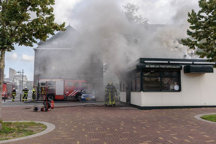 Brand in De Fer in Breda