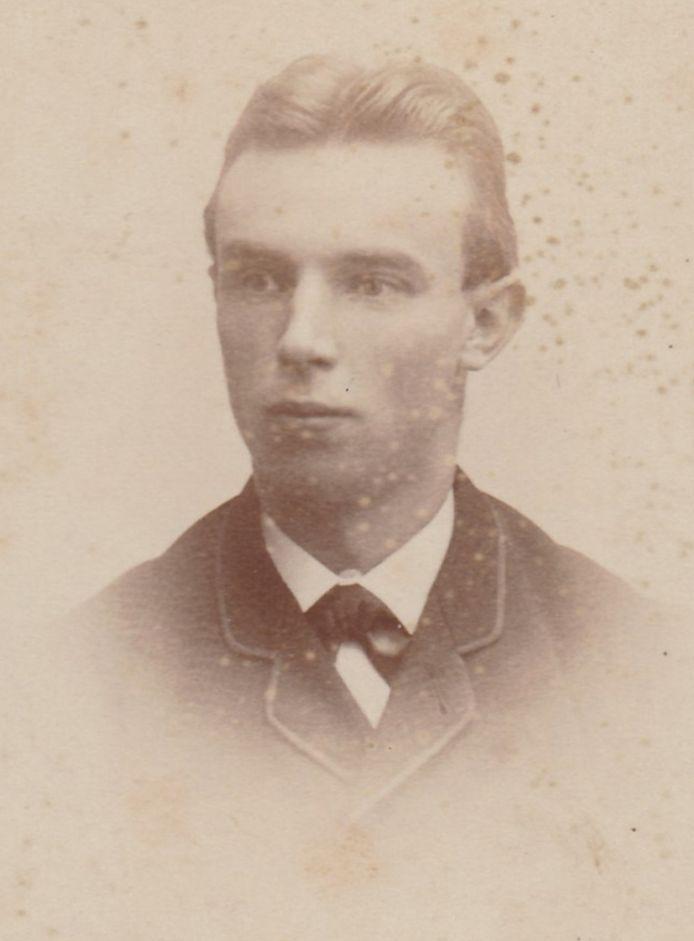 De jonge H.W. Heuvel (1864-1926).
