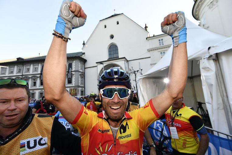 Alejandro Valverde. Beeld BELGA