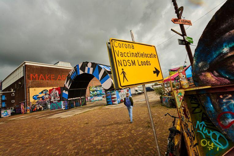 Eigenlijk zou de priklocatie in Noord komend weekend gesloten zijn vanwege Pleinvrees en De Zon, maar die festivals gaan niet door. Beeld Hollandse Hoogte / Nico Garstman