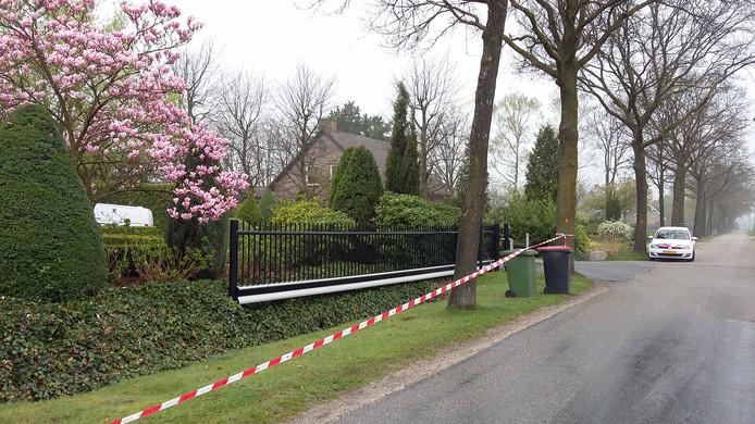 In april  werd een huis aan de Ockhuizenweg in Son overvallen.