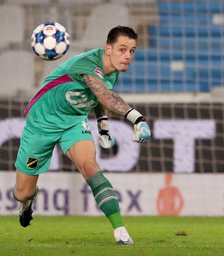 NAC-doelman Olij: 'Bij vlagen hebben we een goede wedstrijd gespeeld'