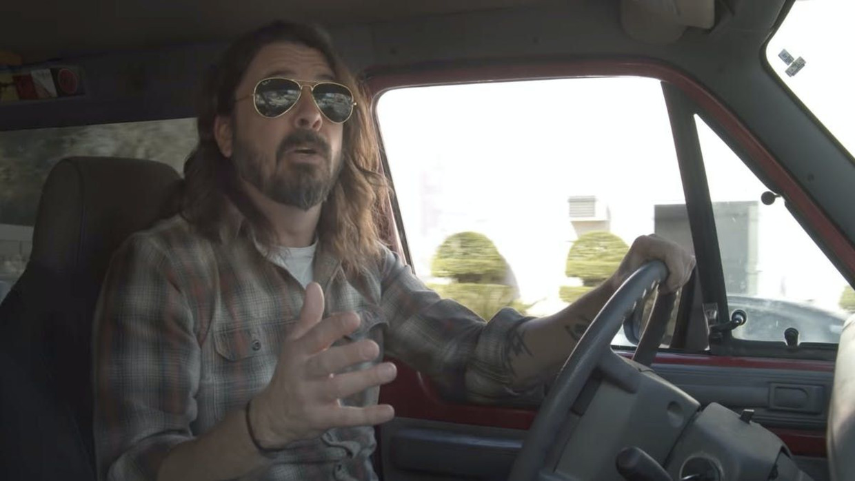 Dave Grohl in 'What Drives Us' Beeld Amazon Prime