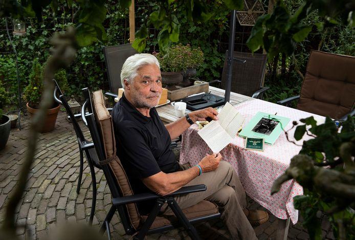 Gerard Greven heeft een boek geschreven over zijn vader die tijdens WOII dwangarbeider was in Duitsland. Het boek is gebaseerd op 66 brieven van zijn vader aan zijn geliefde.