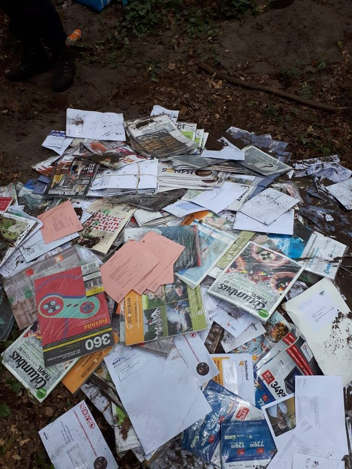 De opgegraven post