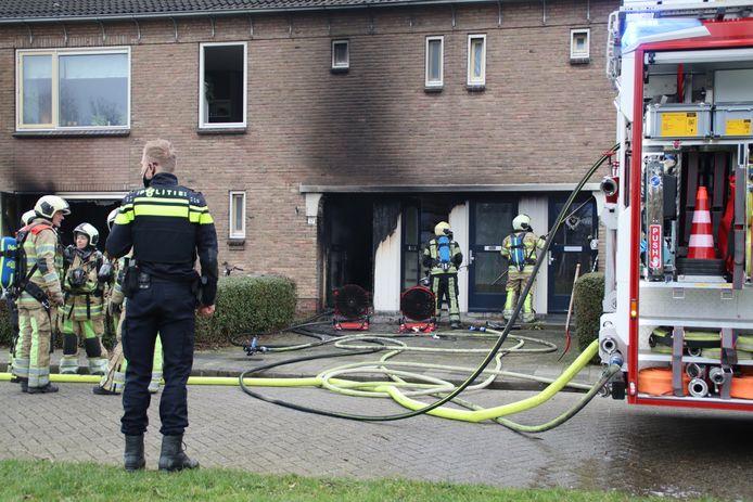 Bij de brand aan de Vrouw Baertestraat in IJsselstein verloor de familie Othman al zijn bezittingen.