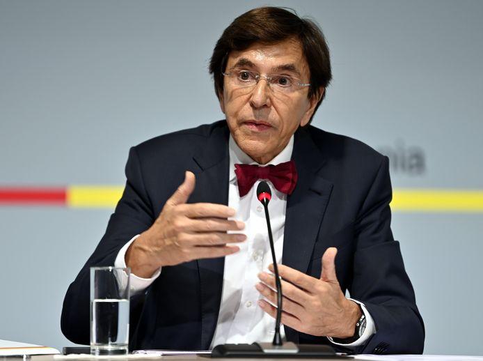 Elio Di Rupo, ministre-président wallon.