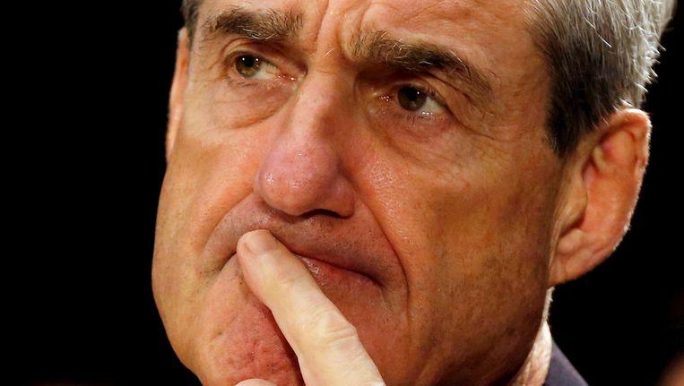 Robert Mueller, de speciale aanklager in het onderzoek. Beeld reuters