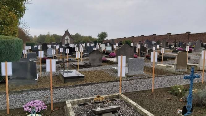 Kerkhof in Meldert wordt ontruimd in voorjaar