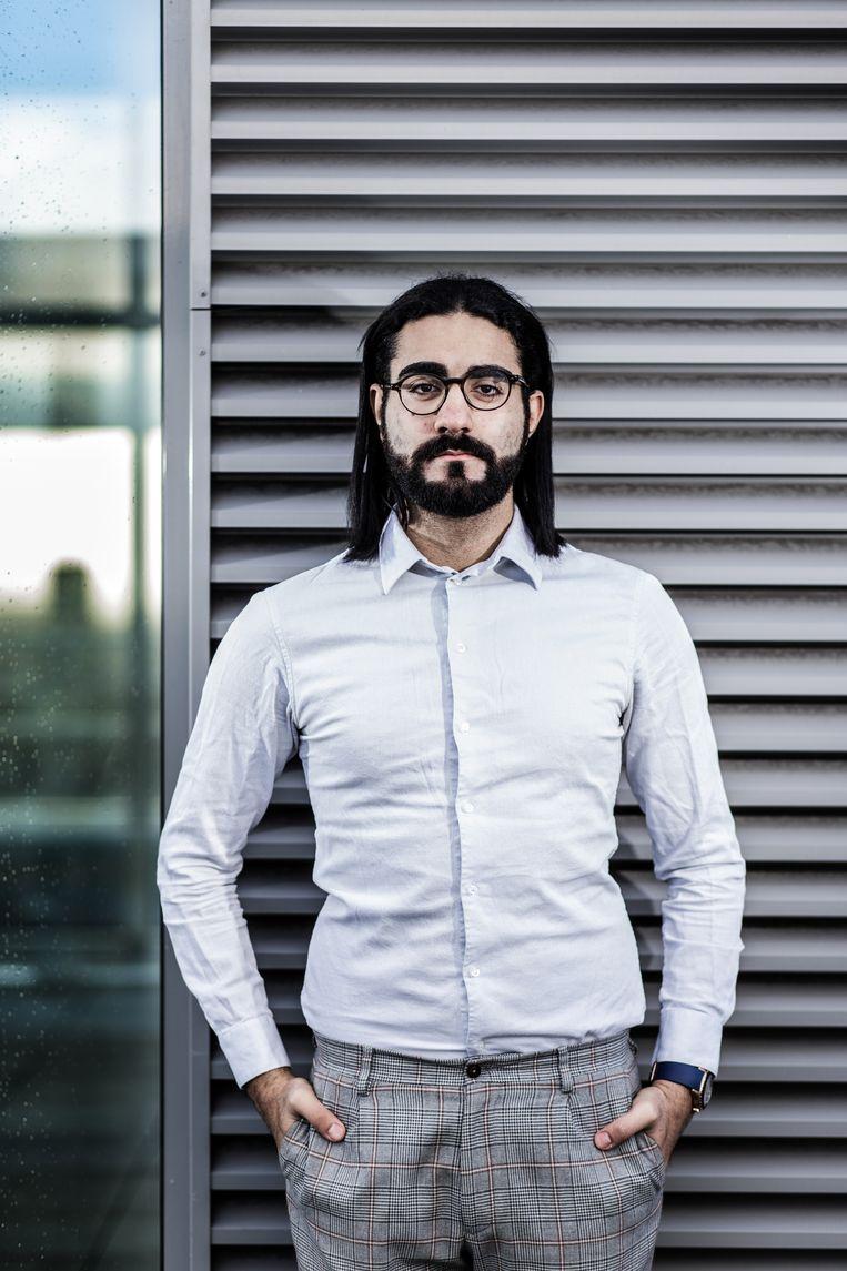 Hassan Al Hilou. Beeld Bob Van Mol