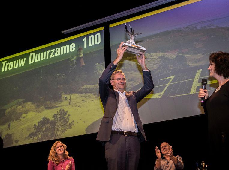 Volkert Engelsman is de nieuwe aanvoerder van de Duurzame 100. Beeld Patrick Post