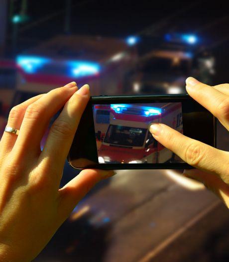 'Filmpje of foto delen van ongeluk: 21.000 euro boete of de cel in'