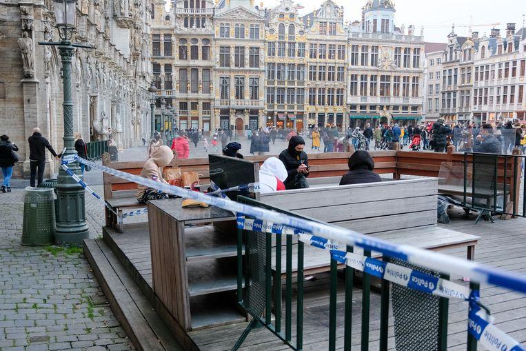 Het herstelfonds van het Brussels Gewest moet meer volk naar onze hoofdstad lokken. Beeld Marc Baert