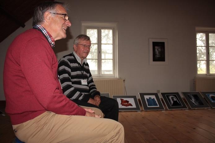 Harry van Mil en Harry van Zutphen.