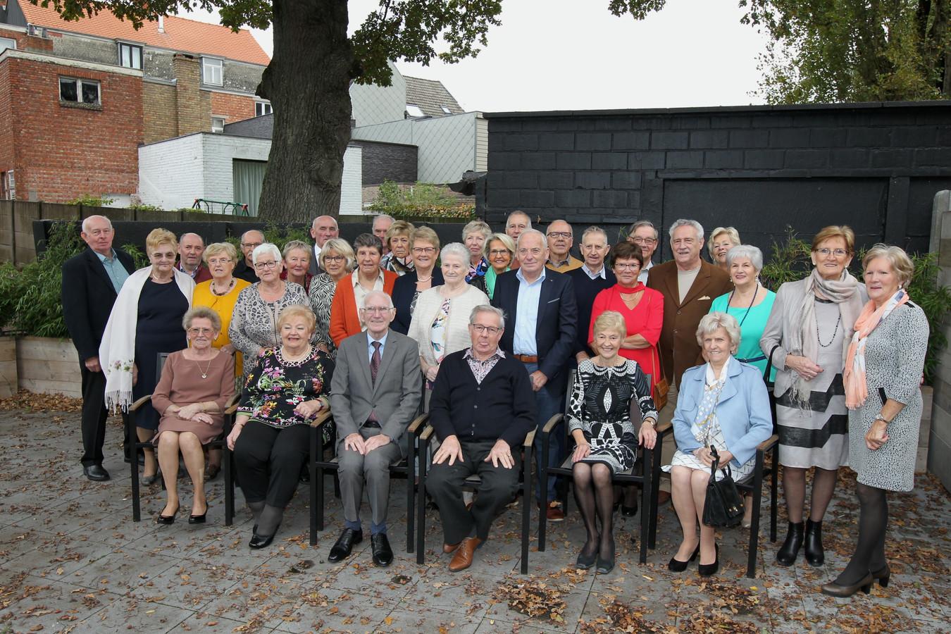 De 75-jarigen van Waarschoot.