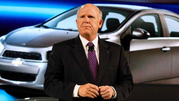 GM-topman Dan Akerson. Beeld Reuters