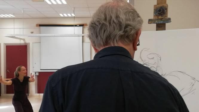 Cursisten van Beeldkracht tonen in Moergstel dat dementie creativiteit niet in de weg staat