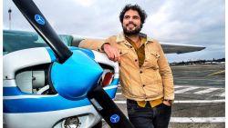 """Riadh Bahri wordt letterlijk vliegende reporter: """"Ik wil mijn vliegbrevet halen"""""""