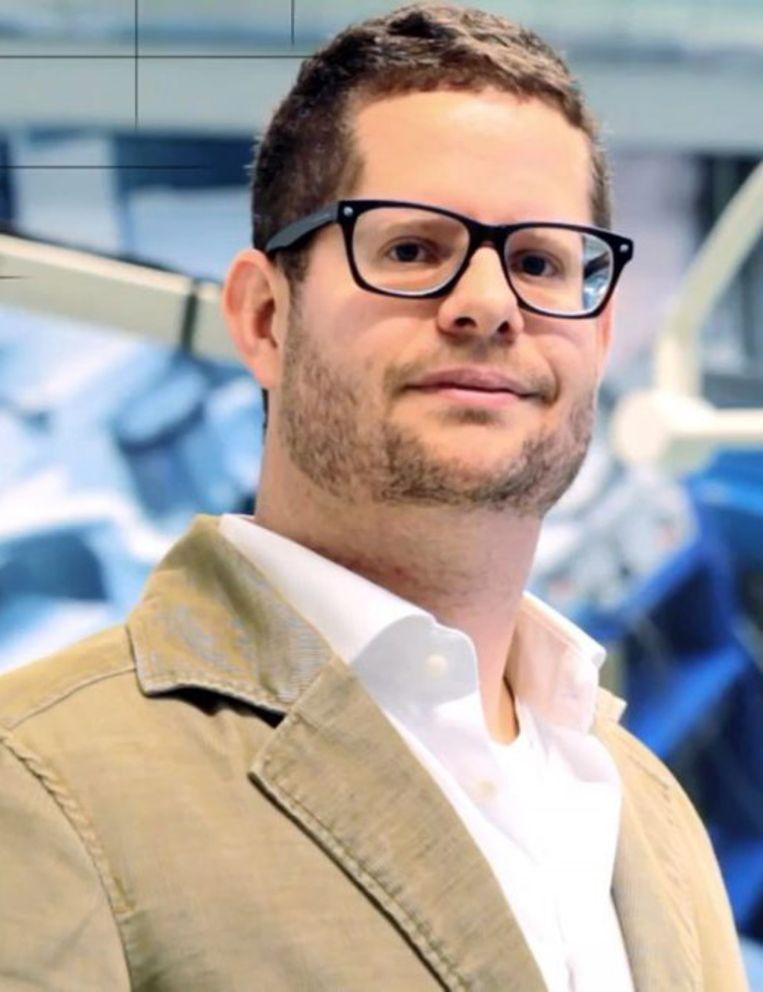 Tim Horeman, onderzoeker aan de TU Delft. Beeld RV