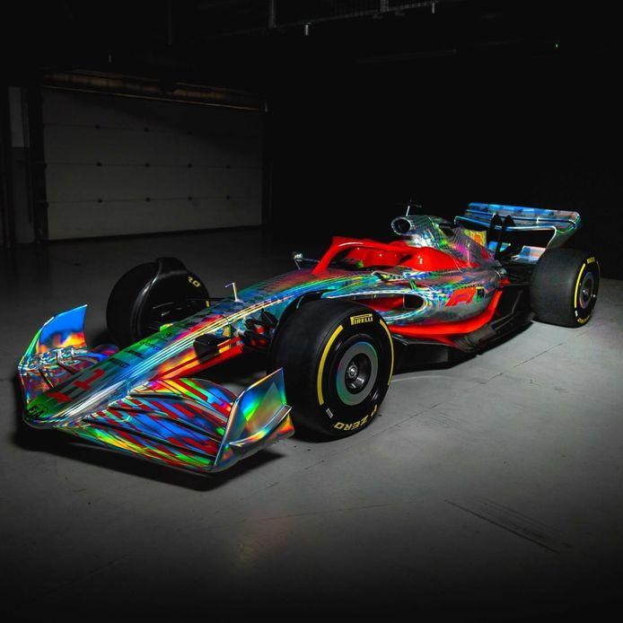 Vanaf 2022 zien de Formule 1-wagens er iets anders uit.