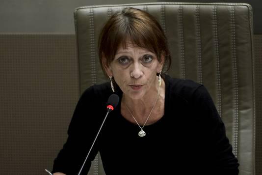 Vlaams parlementslid Ingrid Pira (Groen), oud-burgemeester van Mortsel.