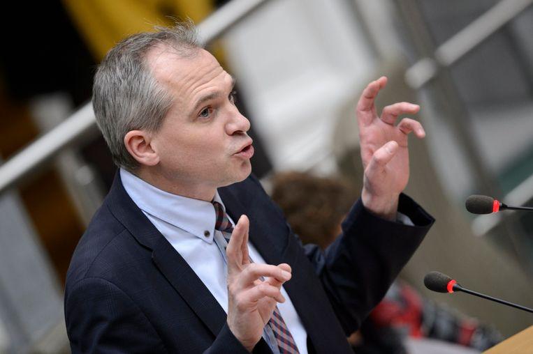 Minister Matthias Diependaele (N-VA). Beeld Photo News