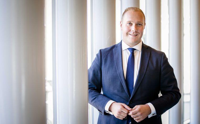 Het nieuwe Tweede Kamerlid Thierry Aartsen. Beeld ANP