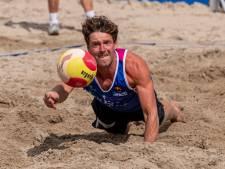 Beachvolleyballer Dirk Boehlé uit Hulst heeft de smaak te pakken