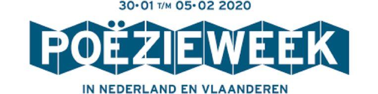 Het logo van de Poëzieweek 2020