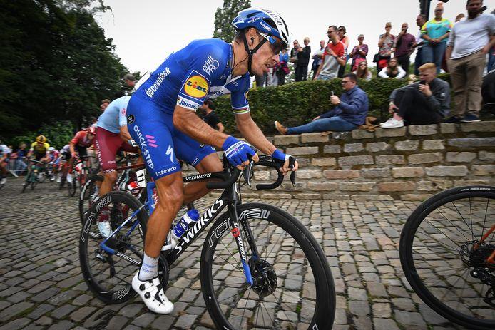 Philippe Gilbert tijdens de Binckbank Tour van vorig jaar.
