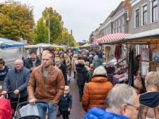 Corona weerhoudt mensen niet van een bezoek aan de Biestemerk in Genemuiden