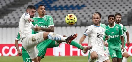 Saint-Étienne alleen aan kop in Ligue 1 na zege in Marseille