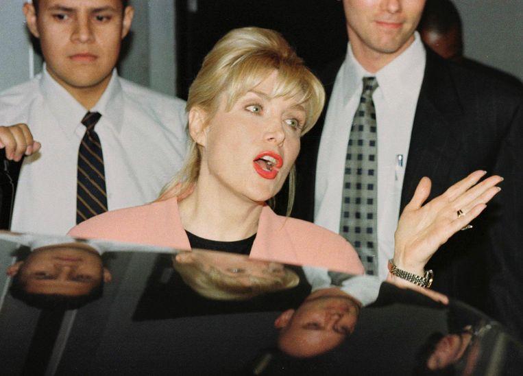 Gennifer Flowers, één van de vrouwen met wie Bill Clinton een affaire heeft gehad. Beeld afp